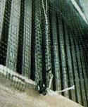 Premium Bird Netting Factory Installation