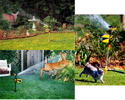 Hydroblast Scarecrow Protects Your Garden from Pests