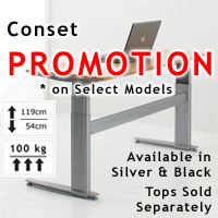 Conset 501-27 2-Leg Electric Workstation
