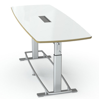 Confluence Conference Table by Focal Upright Furniture