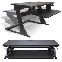 Volante Desktop Sit-Stand Workstation from KV Waterloo