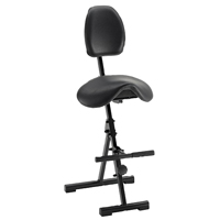 MVMNT Folding Sit-Stand Saddle Chair from Mey Chair Systems