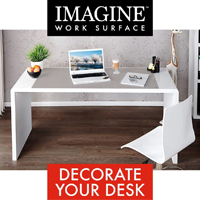 Imagine Work Surface by Microthin