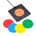 Plate Switch with colour overlays