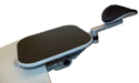 Articulating Gel Forearm Support with Removable Mouse Tray - mouse tray