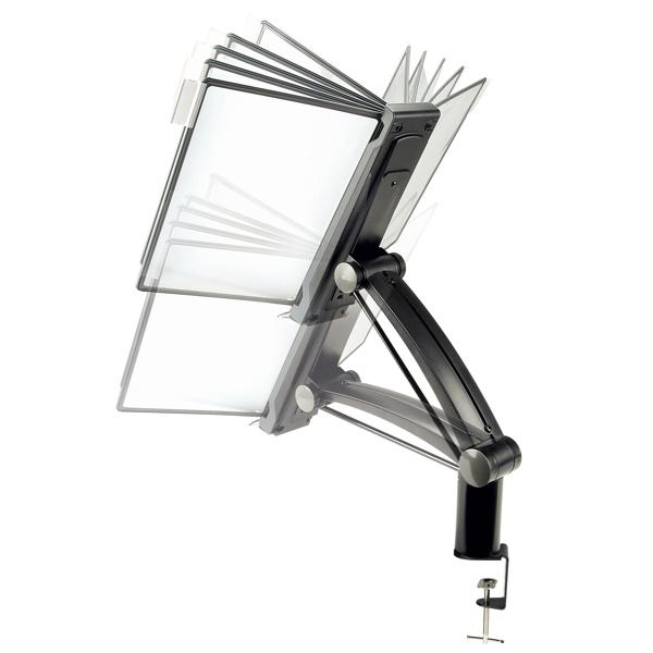 Flip Amp Find Flex Arm Desk Clamp Reference Organizer By