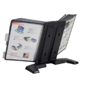 Flip and Find Weighted Desktop Reference Organizer with FDS001-10L Expansion Accessory Installed