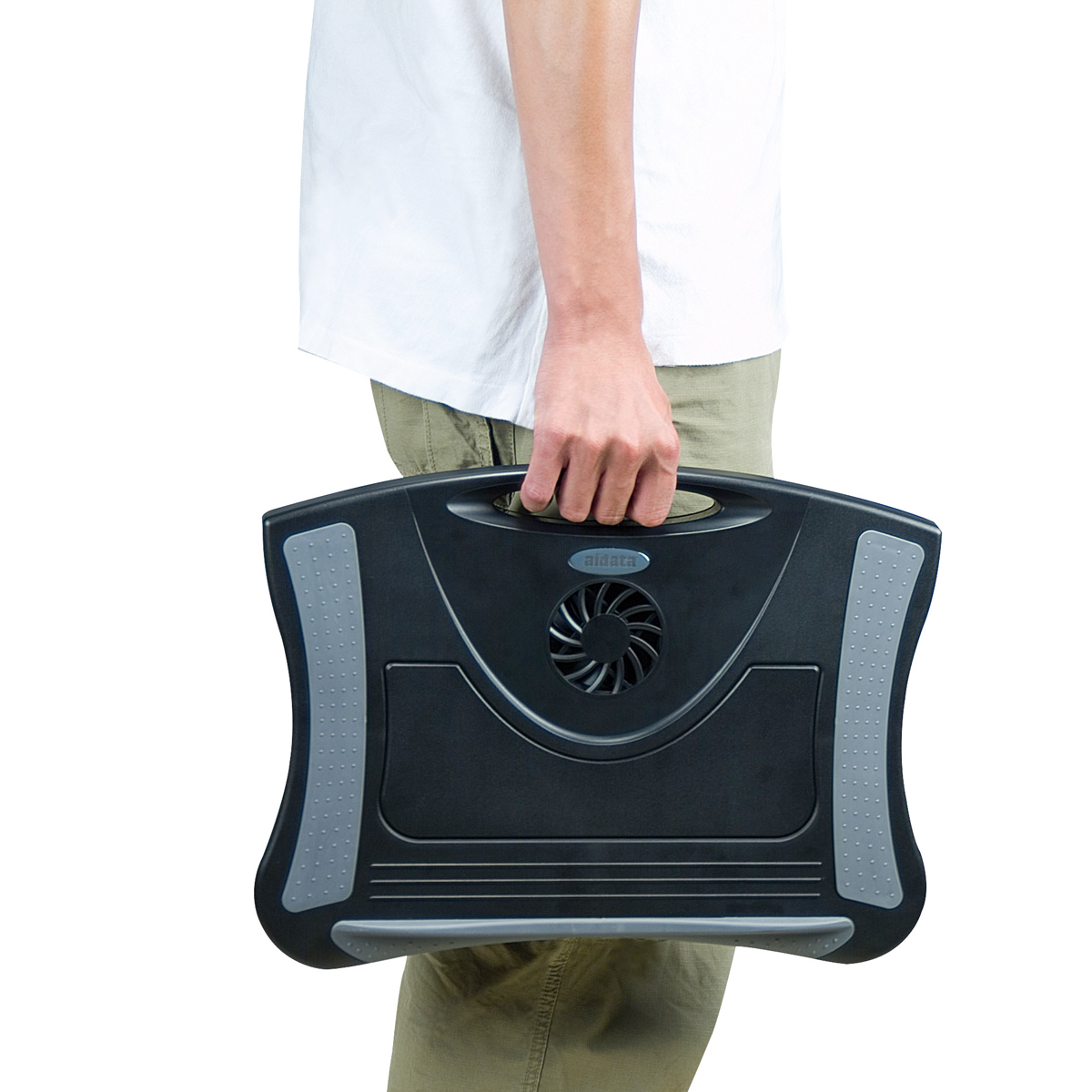 Lapboard Multi Function Laptop Cooling Station By Aidata