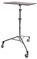 InsTand Heavy-duty Laptop Stand - with wheels added