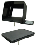 InsTand Heavy-duty Laptop Stand - hood unfolded and folded