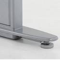 Conset 501-29 Series Base Detail With Floor Levellers