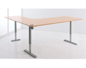 501-49 3-Leg Height Adjustable Base with table top