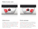 Customize Your Contour Design RollerMouse Red