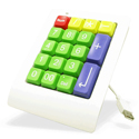 GoogolPad and GoogolPad EZ - coloured keys model