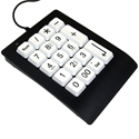 GoogolPad and GoogolPad EZ - black model with white keys