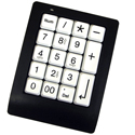 GoogolPad and GoogolPad EZ - black model with white keys (other view)