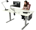 Ergomaker Height Adjustable Frame for Sitting
