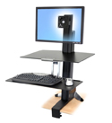 Ergotron Workfit S Single LD Sit-Stand Workstation