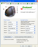 VerticalMouse 4, Driver Screen Capture