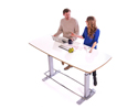 Confluence Conference Table - White Board 6 Person