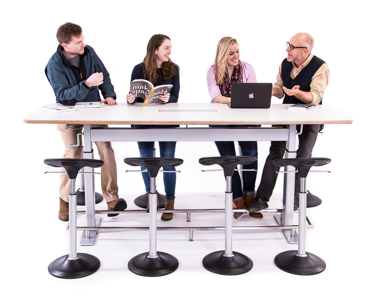 Confluence Conference Table By Focal Upright Furniture ErgoCanada - 8 person conference table