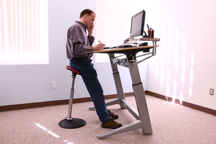 Superior Mobis Seat Is A Perfect Match For Height Adjustable Desks