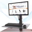 Health Postures Taskmate EZ - Accommodates Large Monitors