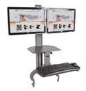 Health Postures Taskmate GO - Dual Monitor