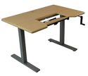 Omega Denali ThermoDesk Table Top with SteadyType Keyboard Tray