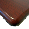 Omega Denali ThermoDesk Table Top - Rounded Corner and Edge Profiles