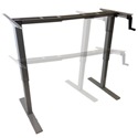 RELEVATE Manual Height Adjustable Desk Base