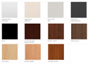 Numerous Colours Available - See Specifications for List