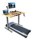 ThermoTread GT Desk Treadmill with Relevate Frame and Omega Denali ThermoDesk Table Top