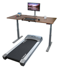 ThermoTread GT Desk Treadmill with Omega Denali (CenterMount) ThermoDesk Table Top