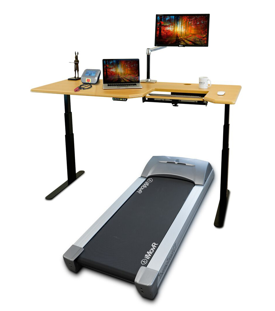 Treadmill For Desk At Work: Thermotread GT Desk Treadmill By IMovR : ErgoCanada
