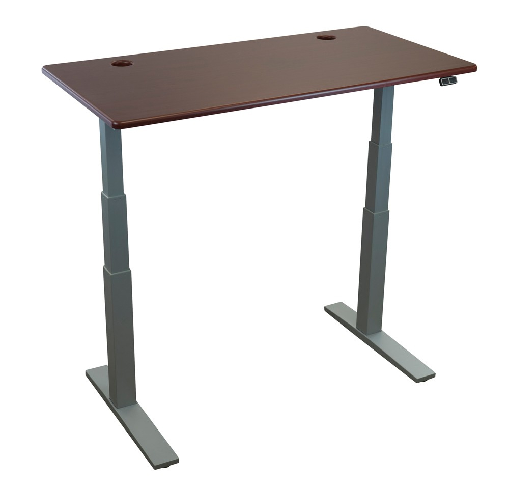 Upstage 24 height adjustable desk base by imovr - Table basse escamotable stand up ...
