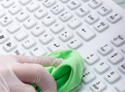 Indukey Smart Clinical Compact Financial Keyboard - Wipes Down Easily
