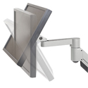 7500 Deluxe Monitor Arm -Tilting Angles