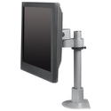 Pivot and Tilt LCD Mount with Pole - side view