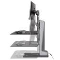 Winston-E Workstation Dual - Height Adjustment Range