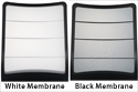 Black or White Membrane Back