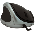 Goldtouch Ergonomic Mouse - front view, left-handed model