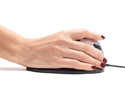 Goldtouch Semi-Vertical Mouse - Hand Position