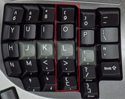 Kinesis Advantage2 Contoured Keyboard - Vertical key layout