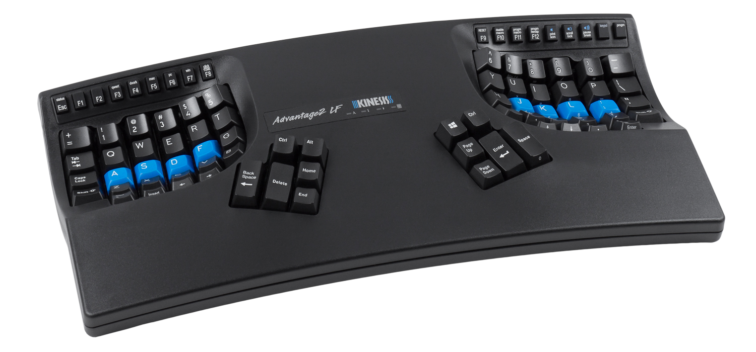 an ergonomic evaluation of the kinesis Ergonomic keyboards are reviewed choosing an ergonomic keyboard can help decrease the risk of rsi, carpal tunnel syndrome, elbow and shoulder pain.