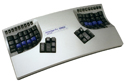 Advantage Contoured Keyboard - silver model