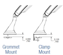 Altissimo Sit-Stand Workstation  - Reverse Mounting