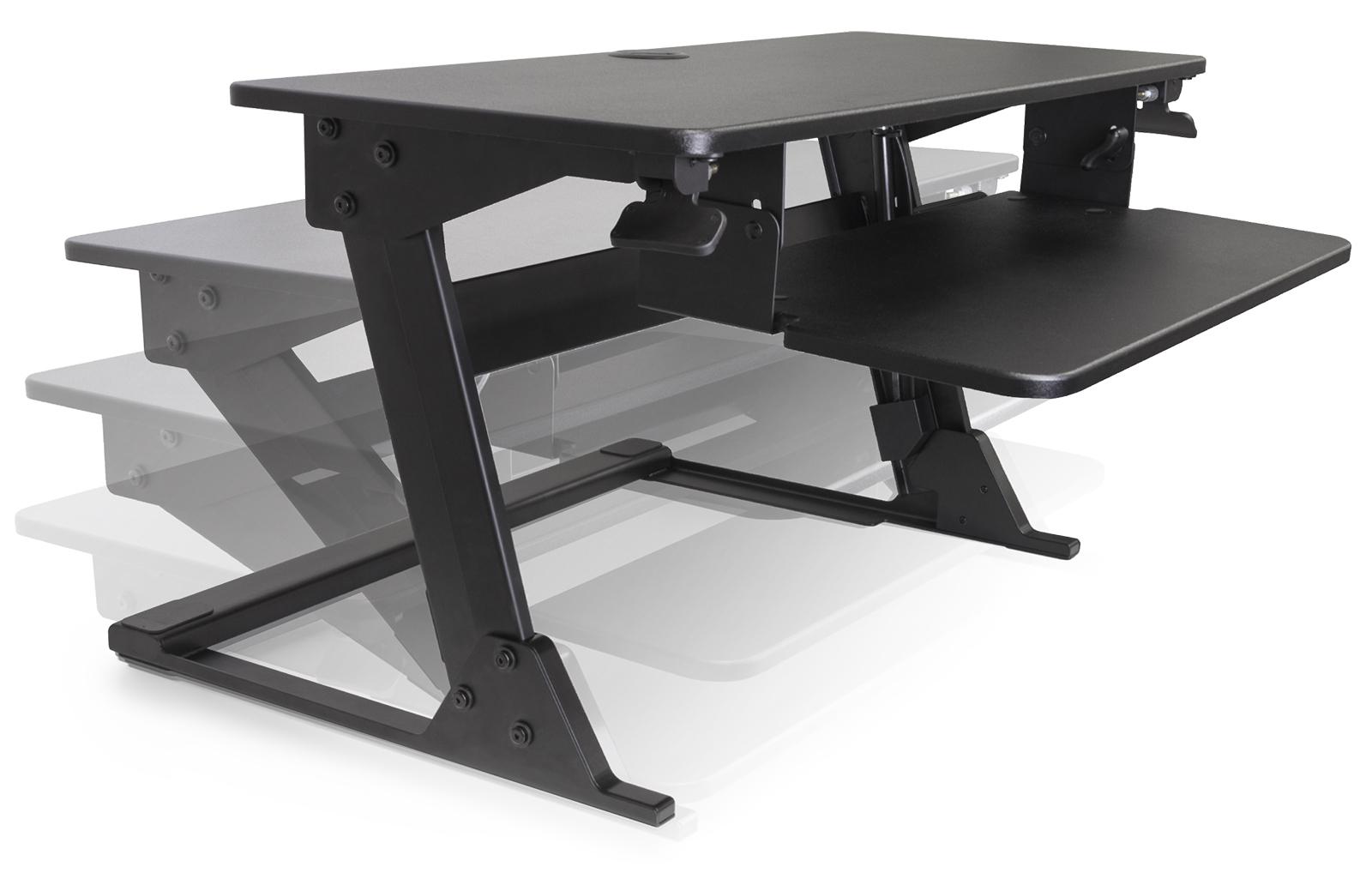 Volante Desktop Sit Stand Workstation By Kv Waterloo