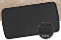 GelPro Elite Anti-Fatigue Mat - Charcoal with Grass Texture