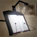 LEVO Bookholder Free-Standing Model - with GIG light